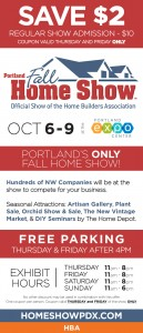 Home and Garden Show Coupon