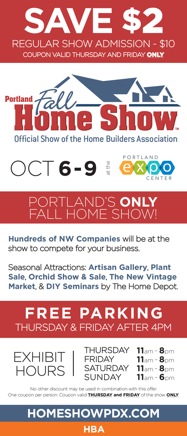 Fall Home Show Custom Stone Creations - Home and garden show coupons